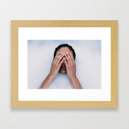 Out of my Mind Framed Art Print