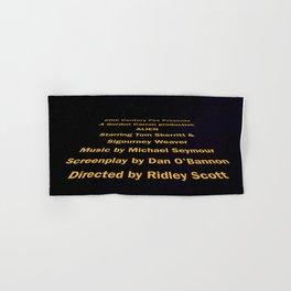 Alien cast & crew Hand & Bath Towel