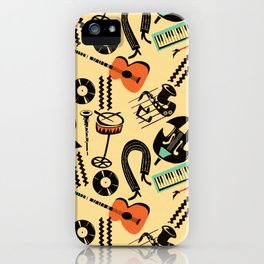 Jazz Rhythm (positive) iPhone Case