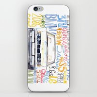 bmw iPhone & iPod Skins featuring BMW e36 by dareba