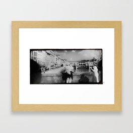 Ponte Vecchio, Florence  Framed Art Print