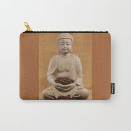 Coffee beans Buddha Carry-All Pouch