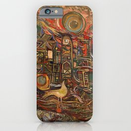 African-American Classical Masterpiece ' The End of the Beginning' by Alexander Skunder Boghossian iPhone Case