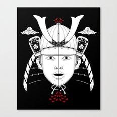 Perfect Samurai Slice Canvas Print