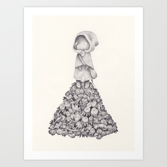Célestine Art Print