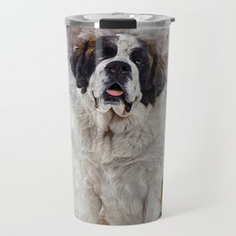 St Bernard Travel Mug