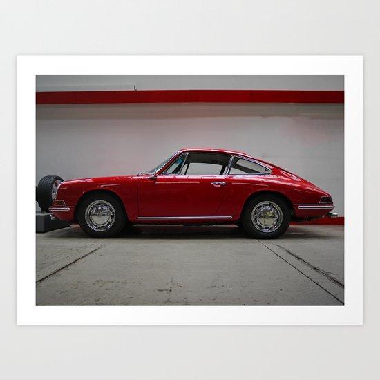 Porsche 911 / II Art Print