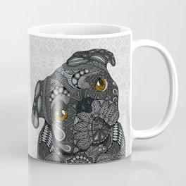 Black Pug 2016 Coffee Mug