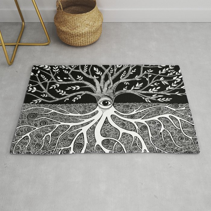 Druid Tree of Life Rug