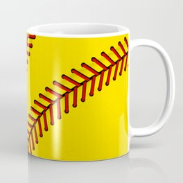 Fast Pitch Softball Coffee Mug
