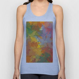 ' Fall Designz ' By: Matthew Crispell Unisex Tank Top