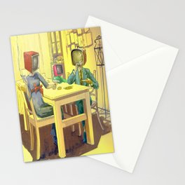 TV Addiction Stationery Cards
