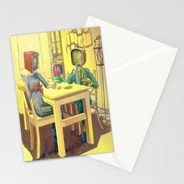 TV Addiction Stationery Cards