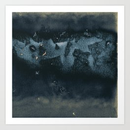 Tunafish Sandwich Wrap, Unravelled III Art Print