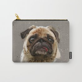 Love your Pug Watercolor Carry-All Pouch