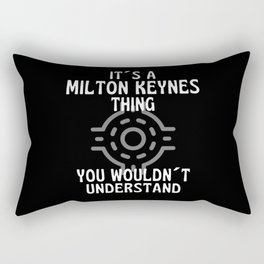 It Is A Milton Keynes Thing  Roundabout Rectangular Pillow