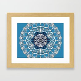 Trance Dream - Maya (Double Blue Edition) Framed Art Print