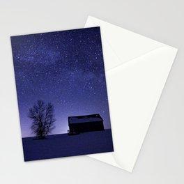 Adirondack Milkyway over Norman Ridge Stationery Cards