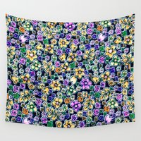 flora Wall Tapestries featuring Flora by BellagioVista