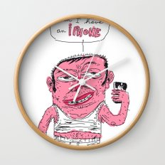 and it's a phone too ? Wall Clock