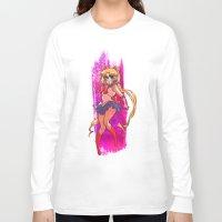 sailor moon Long Sleeve T-shirts featuring Sailor Moon by Peach Mork