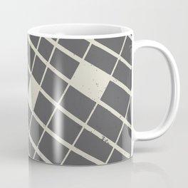 Grid in Black Coffee Mug