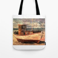 lonely Tote Bags featuring Lonely by Fernando Vieira