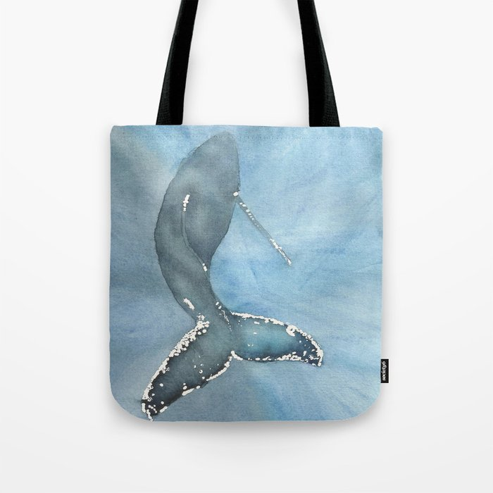 Humpback whale box bag.