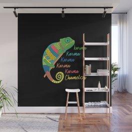 Karma Chameleon Wall Mural