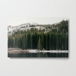 Silver Lake's a Beaut. Metal Print