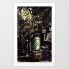 what was that sound? Art Print