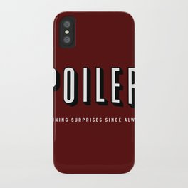 SPOILERS iPhone Case