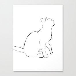 Cat 9 Canvas Print