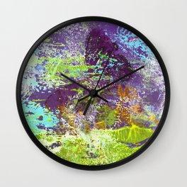 Heron Abstract Painting Wall Clock
