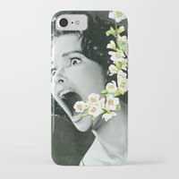scream iPhone & iPod Cases featuring Scream by Ben Giles