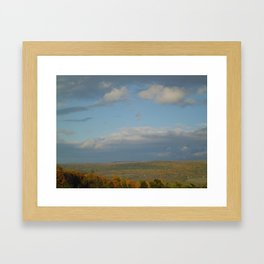 Finger Lakes Palette Framed Art Print