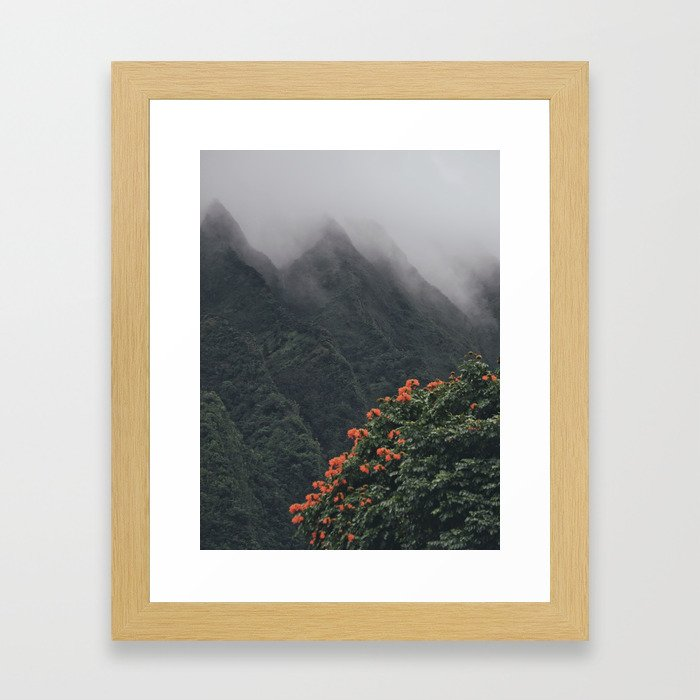 Beyond The Fog Framed Art Print