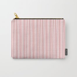 Peach Pink Lines II Carry-All Pouch