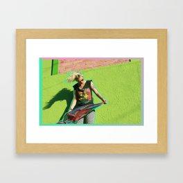 Hey gringa! Framed Art Print