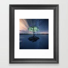 The Stillness Below Framed Art Print