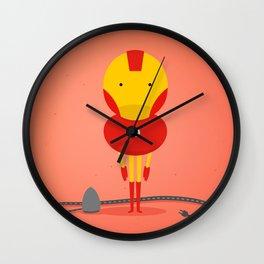 Ironman: My ironing Hero! Wall Clock