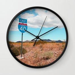 Interstate Wall Clock