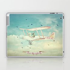 Never Stop Exploring III - THE SKY Laptop & iPad Skin