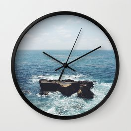 Ocean Rock Wall Clock