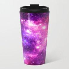 Purple Pink Galaxy Nebula Travel Mug