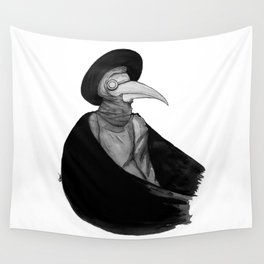 Plague Doctor by Studinano Wall Tapestry