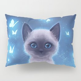 Siamese kitten Pillow Sham