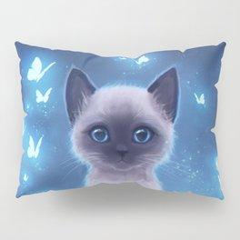 Siamese kitten Pillow Sham