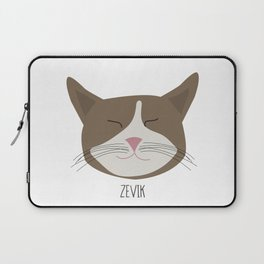 Family Cat Portraits, Zevik Laptop Sleeve