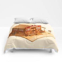 Western Saloon Comforters